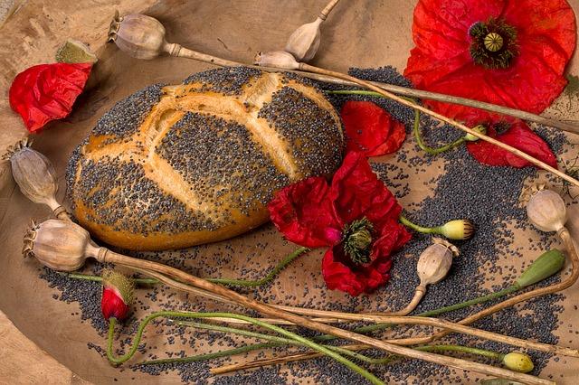 Les produits de boulangerie aux graines de pavot présentent un risque de contenir des alcaloïdes opioïdes